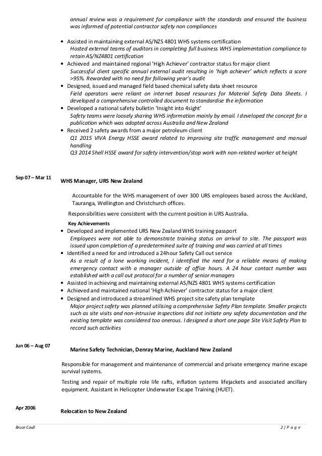 resume description eliolera 16