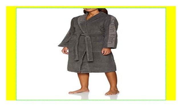 a4139f194e02d Calvin Klein Damen Bademantel Robe
