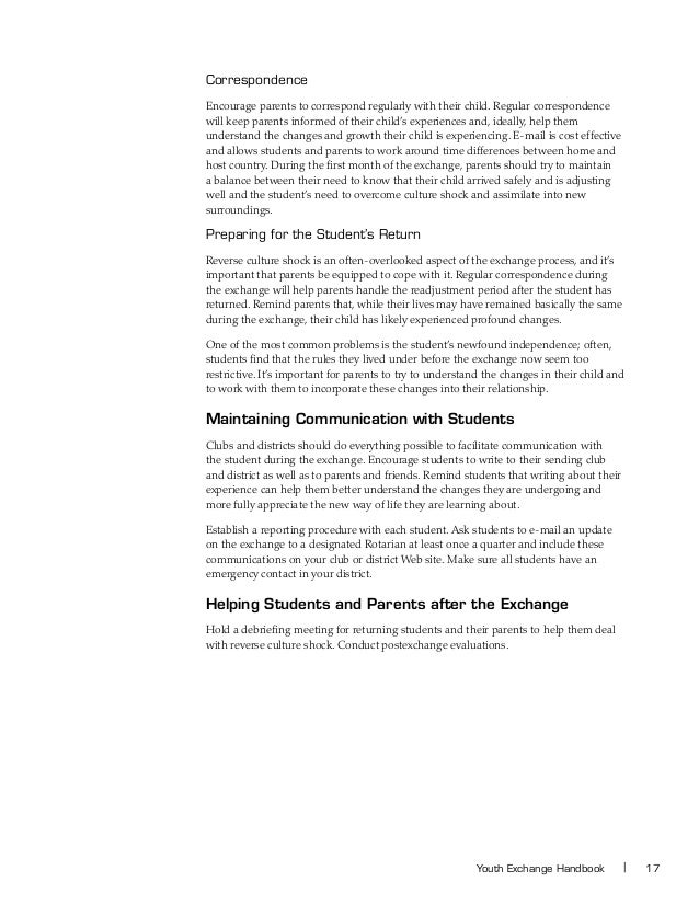 Rotary international youth exchange handbook 22 spiritdancerdesigns Image collections