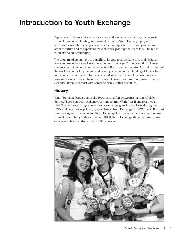 news story rotary youth exchange
