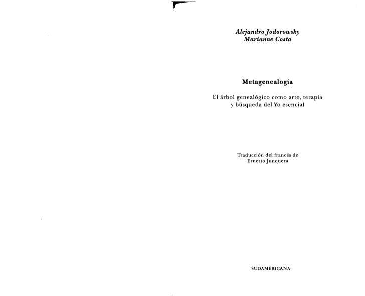 74850673 alejandro-jodorowsky-metagenealogia Slide 2