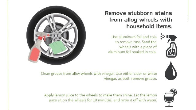 how to keep alloy wheels clean