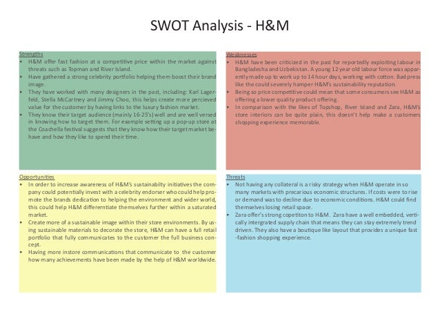 h m swot H&m hennes & mauritz ab company profile - swot analysis: h&m hennes &  mauritz ab (h&m) remains a global giant, but its focus on store expansion means.