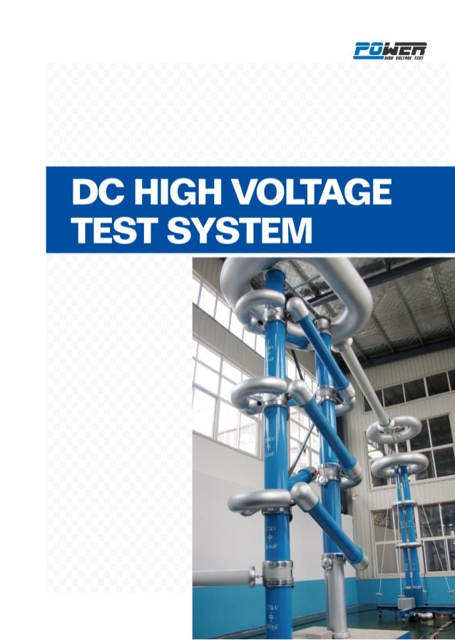 4 DC High Voltage Test System