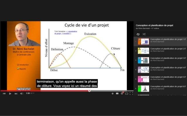 MOOC GdP 6 Devoir 1 Hubert Jacquard Livrables des apprenants : des travaux « riches »