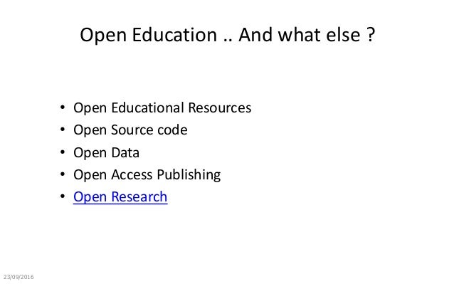 Open Education: the MOOC Experience