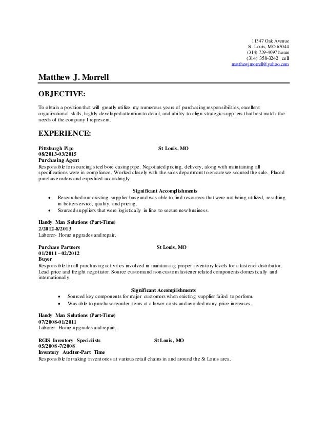 Cover Letter Example Deck Hand  Resume Components