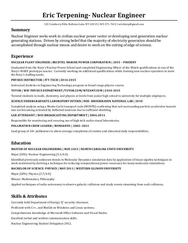 NucEng Resume 2016
