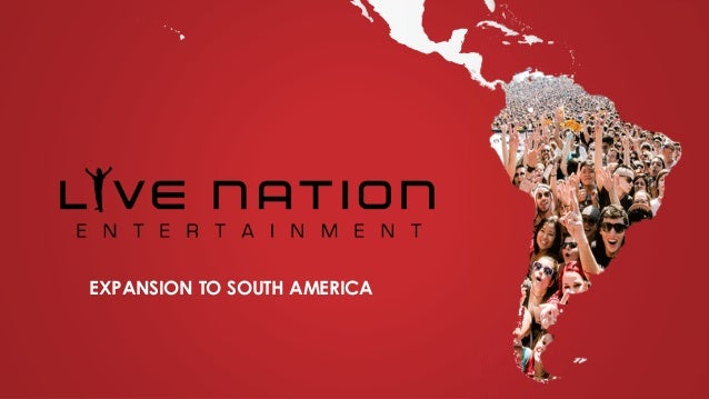 EXPANSION TO SOUTH AMERICA