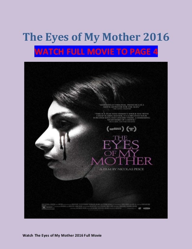 The Eyes Of My Mother Stream