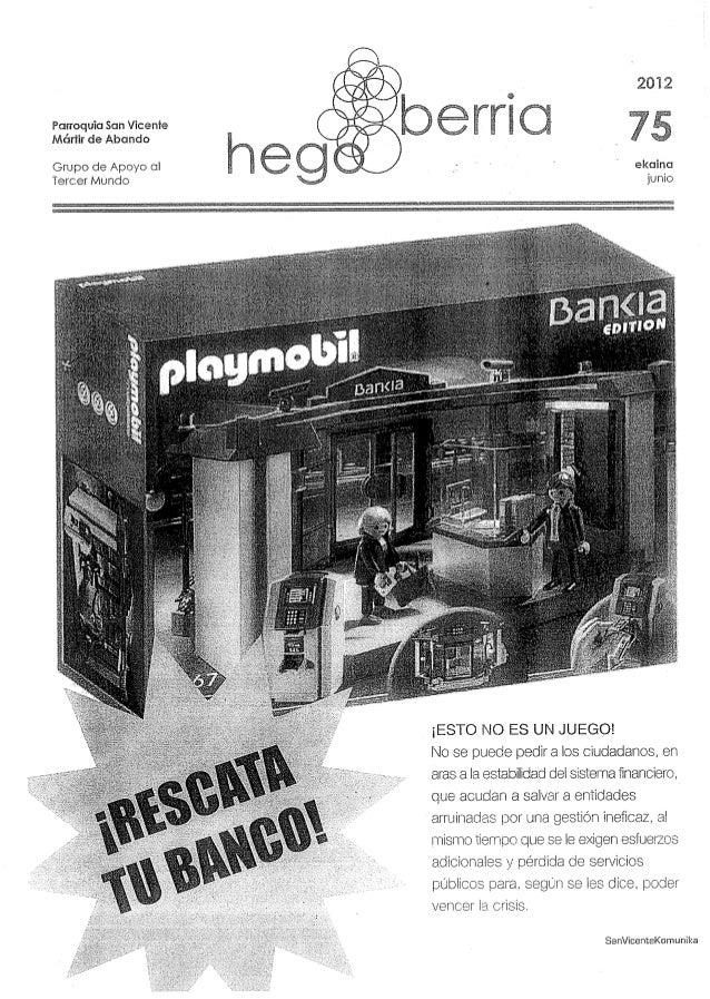 HegoBerriak 75 . junio 2012
