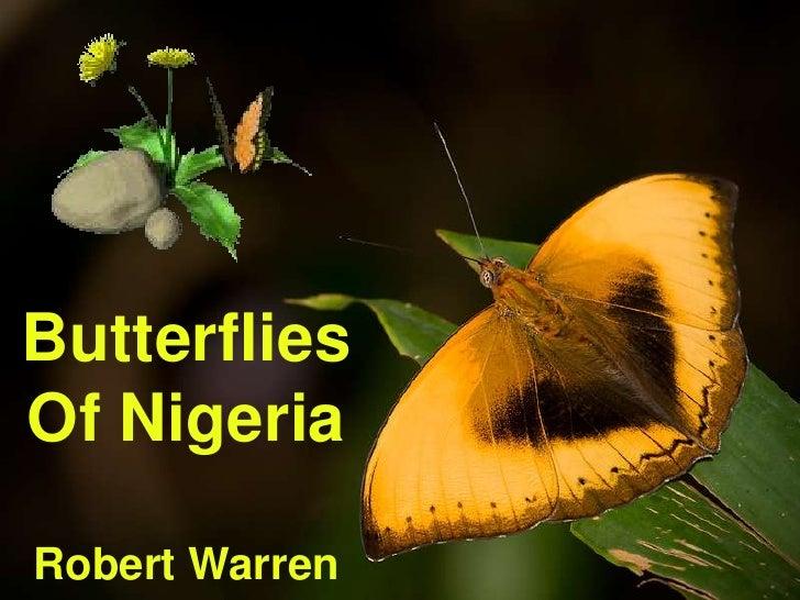 ButterfliesOf NigeriaRobert Warren