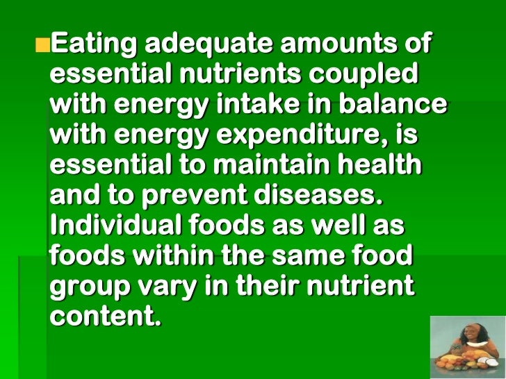Vitamin and minerals supplementsare not a substitute for a balancedand nutritious diet, there is needto emphasize the inta...