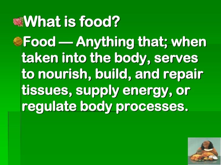 The work resulting from the utilizationof foods by the body is used mainly for: Maintenance of the vitalfunctionsThis is t...