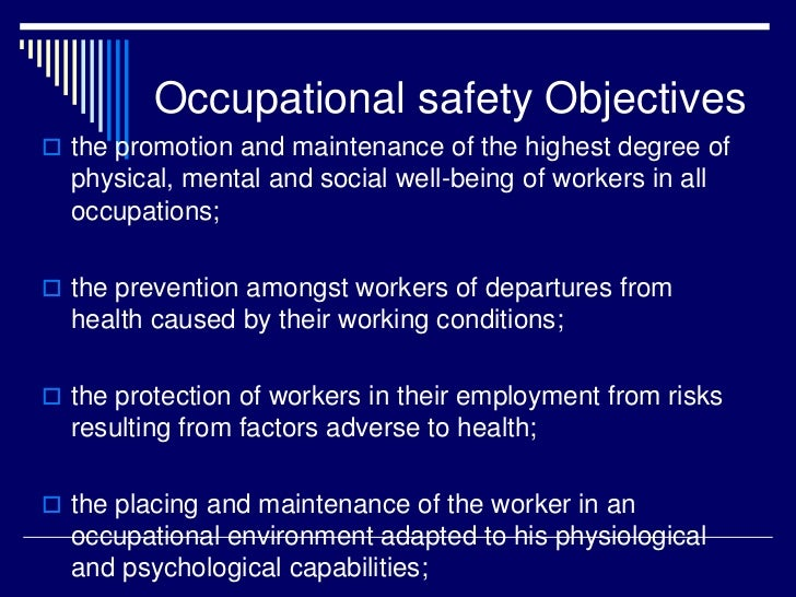 factors promoting health safety in The promotion of workplace health barriers and challenges the review of the literature identified a number of factors that may have an impact on employers' engagement in whp these include: barriers ▫ a lack of occupational safety and health infrastructure ▫ a negative perception of occupational health requirements.