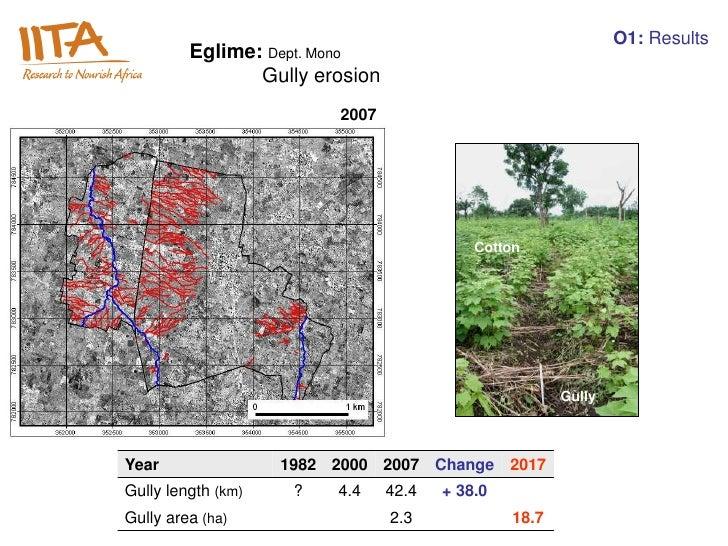 O1: Results         Eglime: Dept. Mono                Gully erosion                         2007                          ...