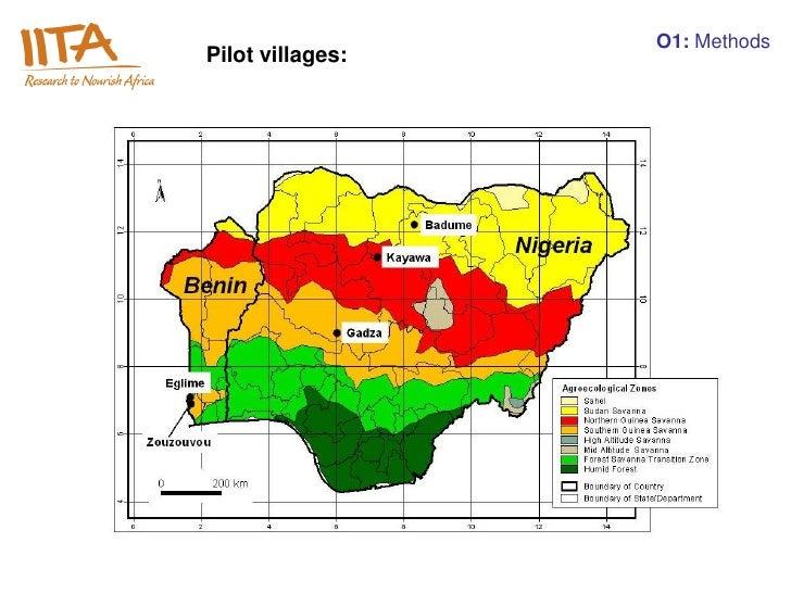 O1: MethodsPilot villages: