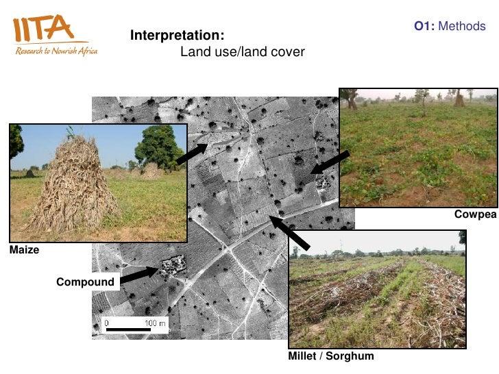 O1: Methods                   Interpretation:                           Land use/land cover                               ...