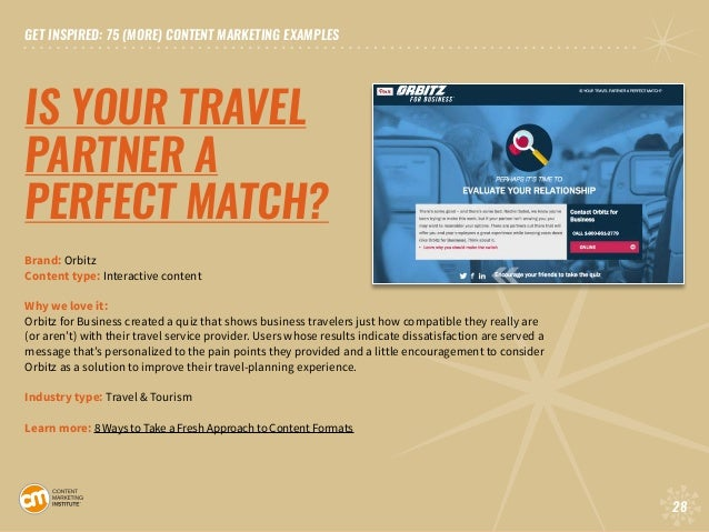 75 [More] Content Marketing Examples