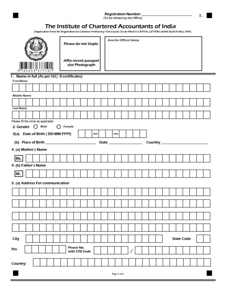 6.                       INSTRUCTIONS FOR FILLING THE FORMPLEASE FOLLOW THE SIMPLE STEPS WHILE FILLING THE FORMS     1. Us...