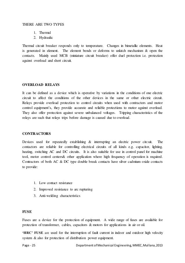 Page - 25 Departmentof Mechanical Engineering,MMEC,Mullana,2013 THERE ARE TWO TYPES 1. Thermal 2. Hydraulic Thermal circui...