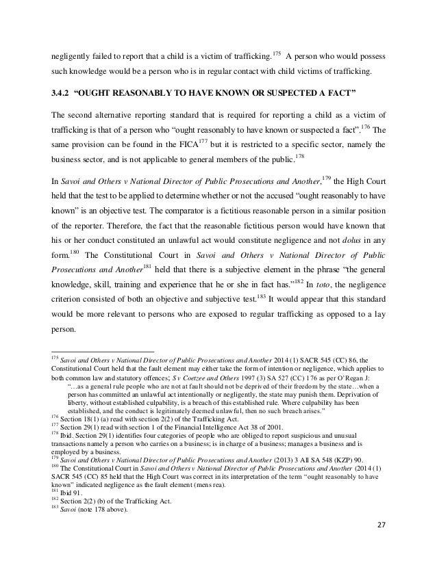 Phd thesis human trafficking