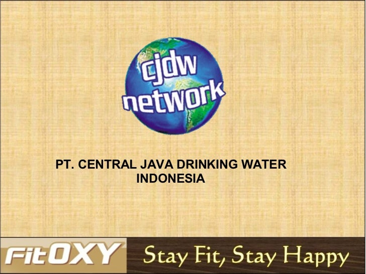 PT. CENTRAL JAVA DRINKING WATER INDONESIA