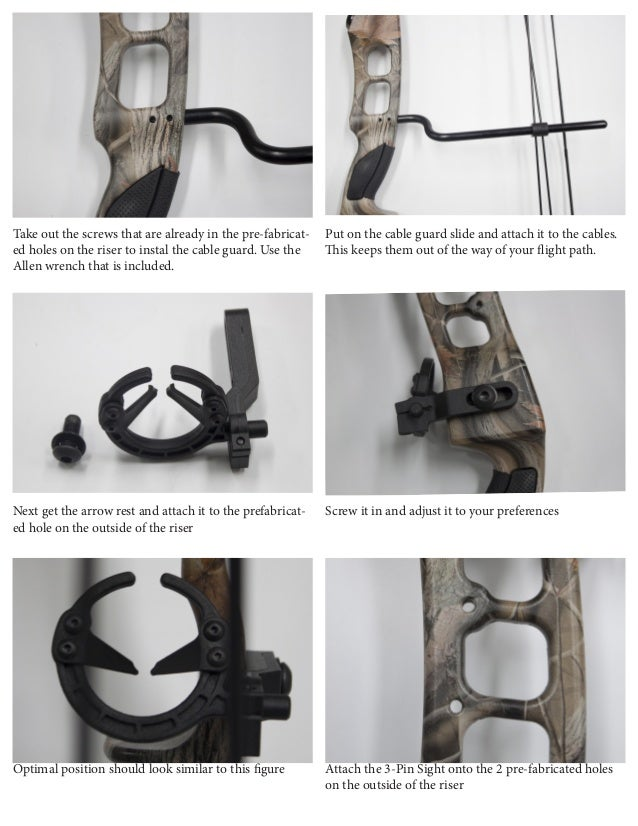 Sergeant Compound Bow Package Manual