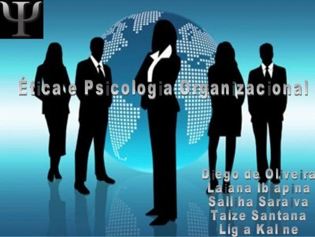 HISTÓRICO • Começou juntamente com a Psicologia • Os primeiros a utilizarem eram psicólogos experimentais:seleção, testes ...
