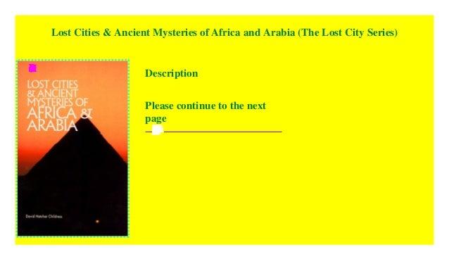 Ancient Mysteries Pdf