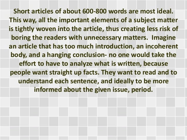 Write a short article on oceanography