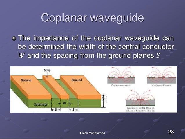 planar wave guide rh slideshare net Generative Design Microstrip Filter Design