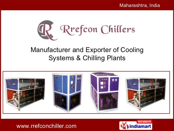 Manufacturer and Exporter of Cooling Systems & Chilling Plants