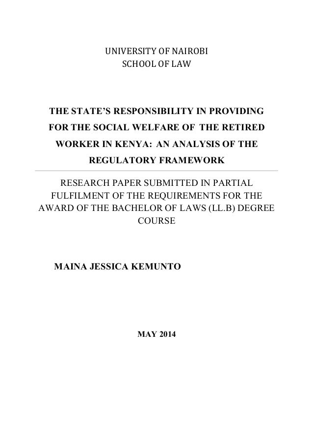 An analysis of the law in society
