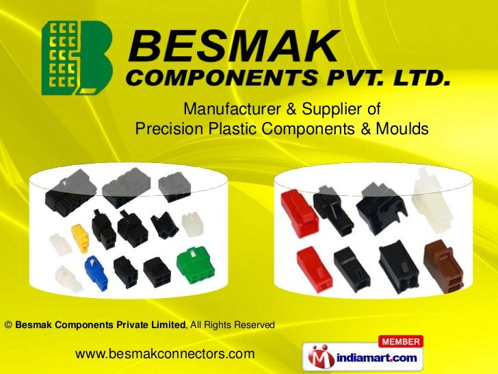 Manufacturer & Supplier of<br />Precision Plastic Components & Moulds<br />