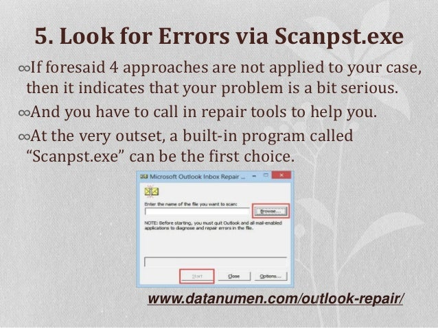 """6 Means to Fix Outlook Error """"The attempted operation failed. An obje…"""