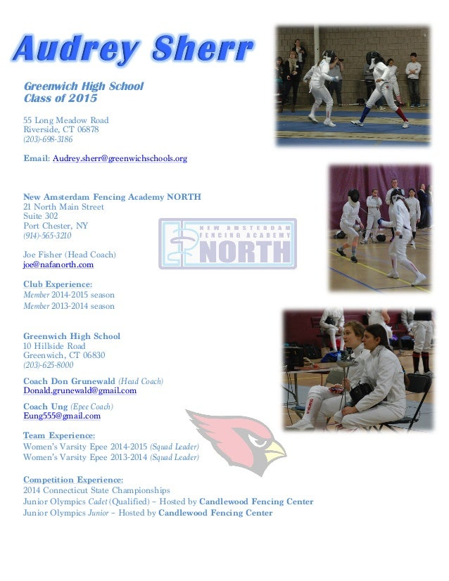 Athletic Resume | Athletic Resume