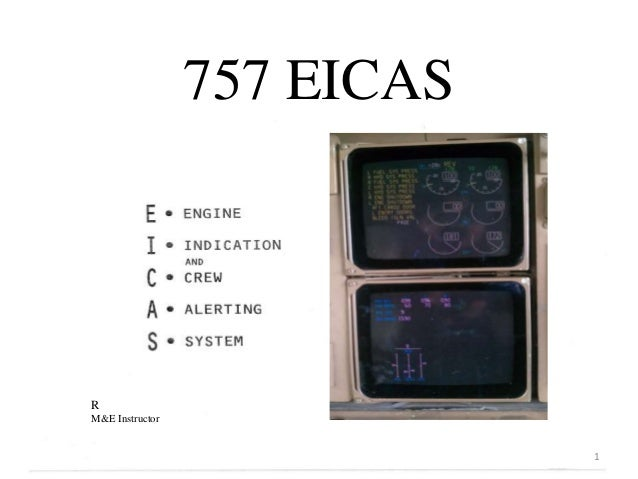 757 EICASRM&E Instructor                             1