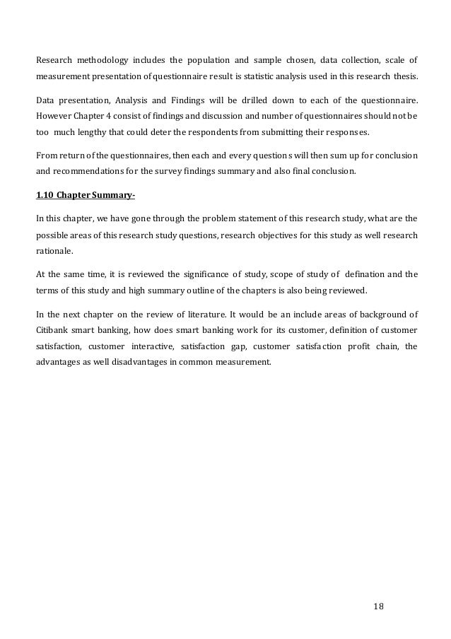 Dissertation proposal service on customer satisfaction