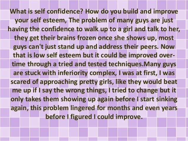 How to build self confidence to approach women how to build self confidence to approach women 2 ccuart Image collections