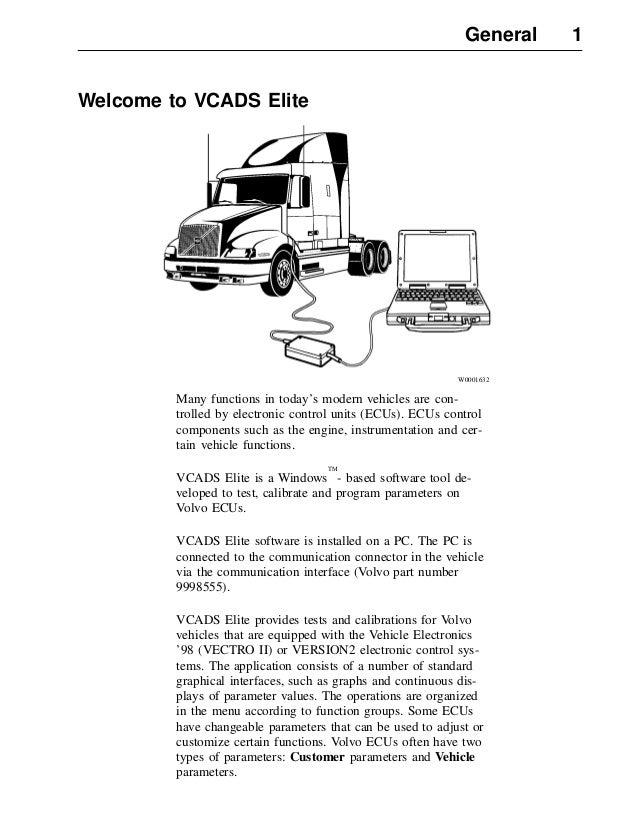 75959914 vcads user manual volvo rh slideshare net Volvo Semi Truck Engines Volvo Truck Engine Sizes