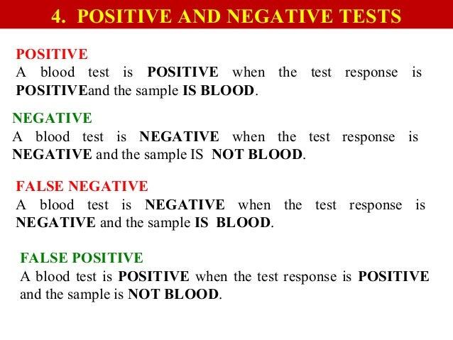 Presumptive Tests For Blood