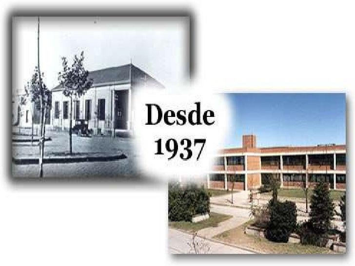 Edificio donde se dictaronclases desde 1937 a 1980