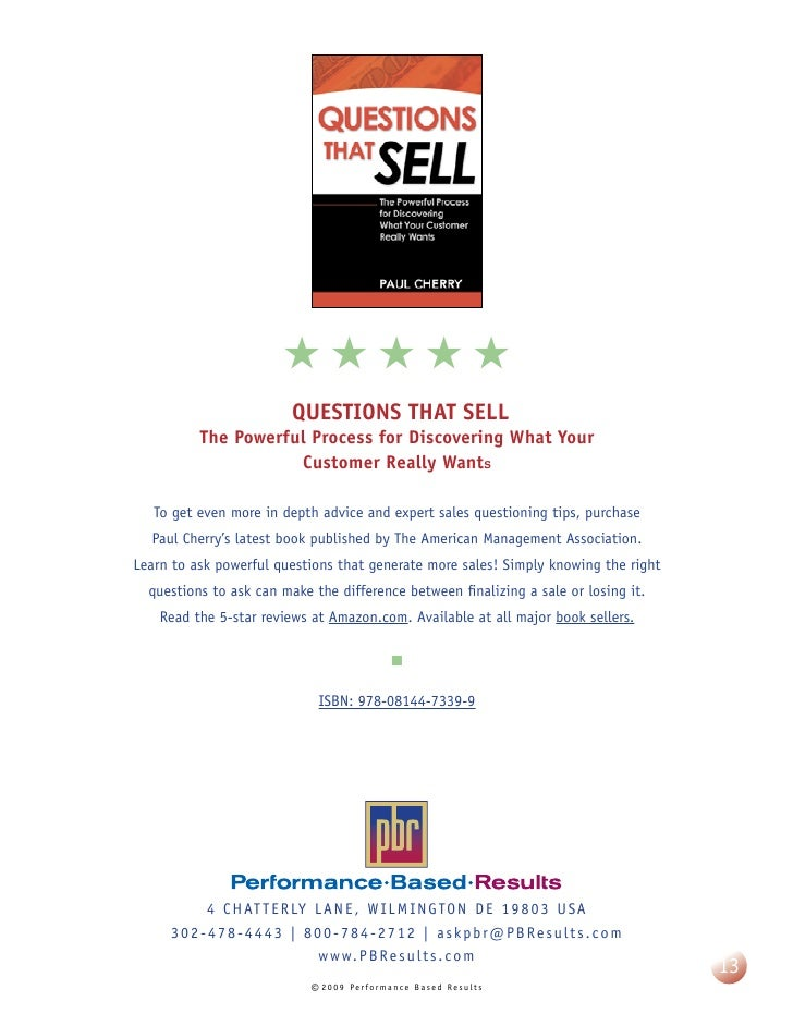Sell paul pdf questions that cherry