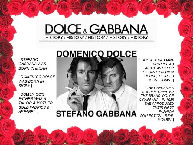 an analysis of the ethics and strategy of dolce gabbana Dolce and gabbana has been analysed the table above concludes the dolce and gabbana (d&g) swot analysis along with its marketing and strategy.