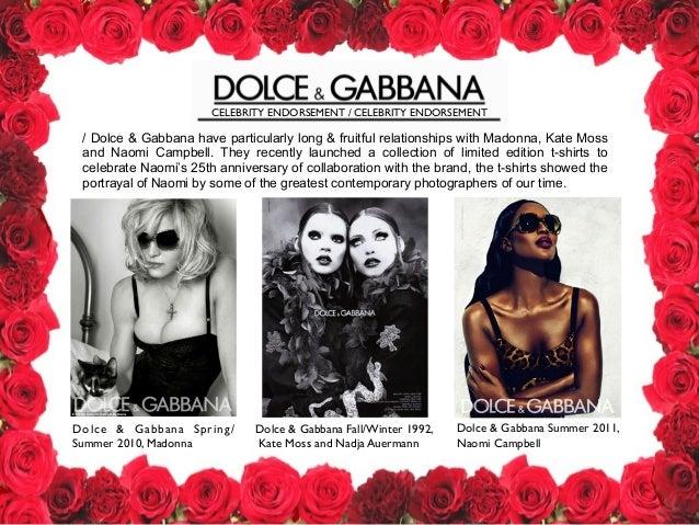 Dolce and gabbana analysis
