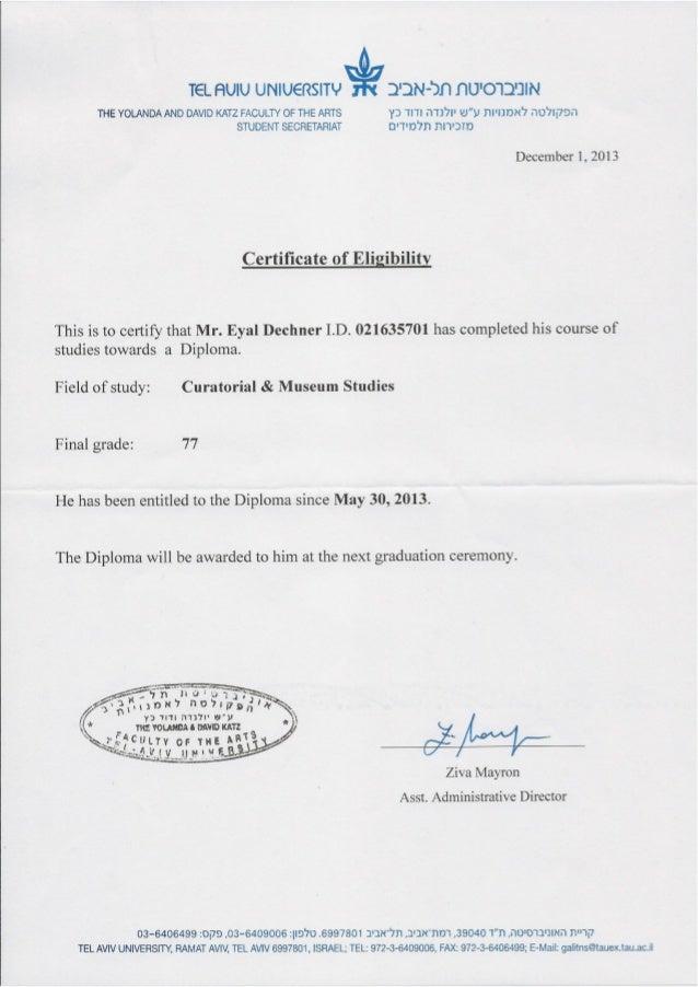 certificate museum studies slideshare curatorial eligibility upcoming