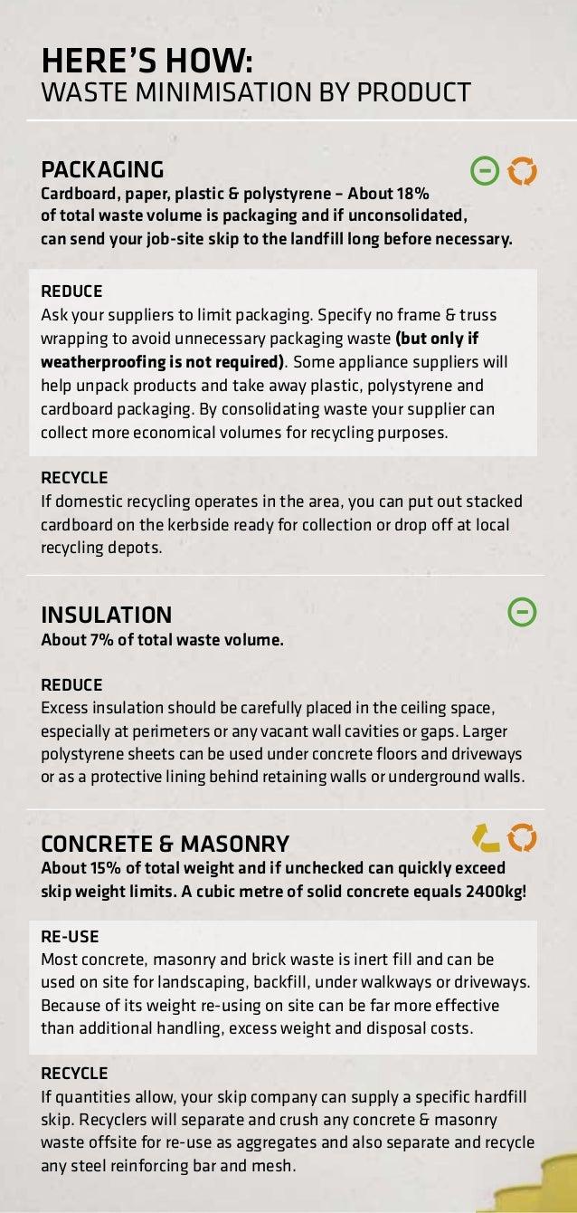 itm waste minimisation guide 12
