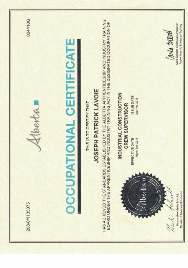 certification iccs