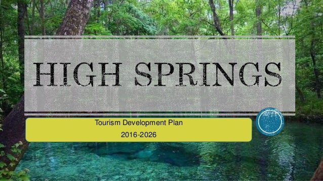Tourism Development Plan 2016-2026